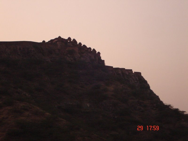Bhopal Garh fort in the Town