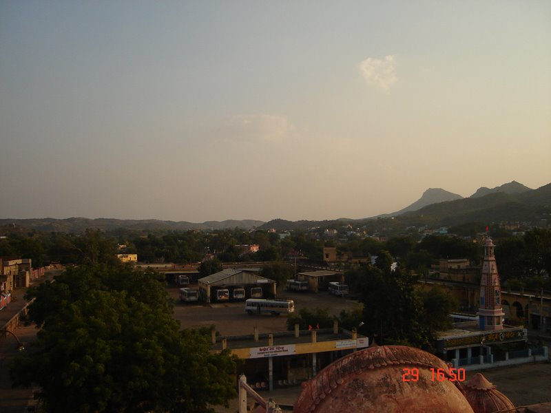 A View of Khetri Town